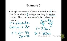 writing 2 step equations from word problems