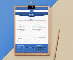 latest cv template 20 free resume template download psd ai resume examples