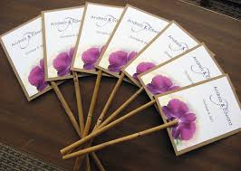 cool wedding programs seven summer wedding ideas to keep your guests cool in the summer