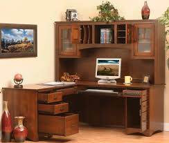Office Desk With Hutch Storage Wooden L Shaped Computer Desk With Hutch Designs Ideas And