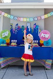 superhero birthday chic superhero birthday party