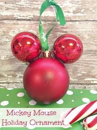 mickey mouse ornament mommadjane