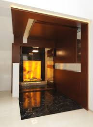 pooja room onyx wood panel glass door contemporary doors