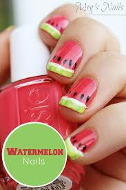 cool watermelon nail art by http www nailartdesignexpert xyz