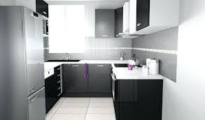 plan de travail cuisine blanc laqué cuisine blanche plan de travail noir et by tablet sktop
