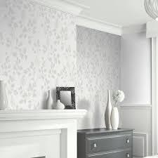 arthouse catalina silver leaf glitter wallpaper 292501