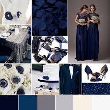 midnight blue wedding band winter wedding color palette wedding navy midnight blue and
