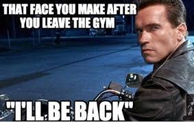 Gym Memes - the face you make after leaving the gym memes bmi calculator