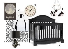 Nursery Furniture Sets Ireland by Black And White Nursery Penguins Pilgrimage Collection By Kathy