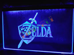 Neon Lights Home Decor Lh040 B Legend Of Zelda Video Game Neon Light Sign Home Decor Shop