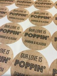 popcorn wedding favors our is poppin our is popping wedding favors popcorn