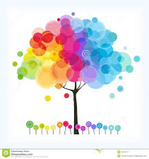 the rainbow tree stock photo image 25126270