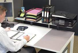 ultimate office modular desktop platforms risers and shelves
