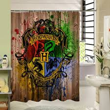 polyester shower curtain old bronze wooden garage door vintage