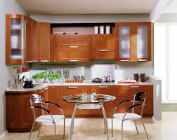 Modern Kitchen Furniture Sets by Cabinets U0026 Storages Glamorous Brown Varnihed Solid Wooden Modern