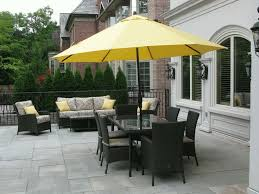 magnificent yellow patio umbrella yellow gray and black outdoor