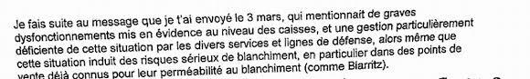 Alors Meme Que - barclays whistleblower letter about anti money laundering failings