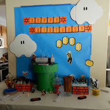 free super mario brothers party printables