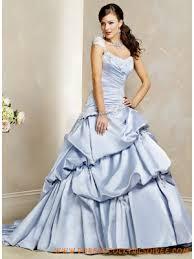 robe de mari e bleue robe de mariée bleu