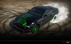 Green And Black Mustang Ford Mustang Shelby Gt500 Snake By Paho95 On Deviantart