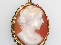 antique gold cameo necklace images 59 cameo necklace value vintage dainty 10k gold pink shell cameo jpg
