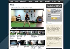 fitness personal training website design online marketing