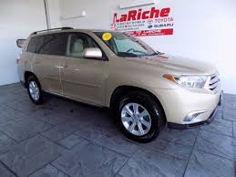 toyota highlander used 2012 used 2012 toyota highlander for sale findlay oh stock 17294a