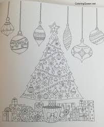 johanna u0027s christmas festive colouring book uk edition