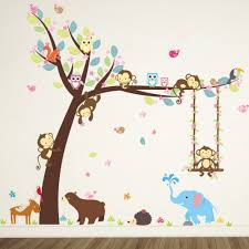 Owl Wall Sticker Tree Owl Decal Promotion Shop For Promotional Tree Owl Decal On