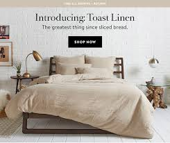 parachute what u0027s new toast linen milled