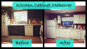 kitchen cabinet makeover rustoleum cabinet transformations youtube