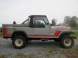 jeep scrambler jeep scrambler cj8