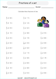 calculate the fractions of sets not exceeding 100 great grade 4