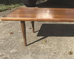 Solid Wood Coffee Tables Vintage Coffee Table Etsy
