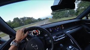 lexus lc technology driving the 2018 lexus lc 500 at sunset binaural audio youtube