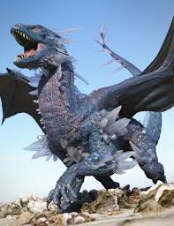 crystal dragon daz dragon 3 3d models 3d software