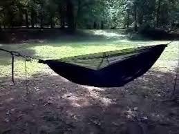 diy sewn on bug net camping hammock youtube