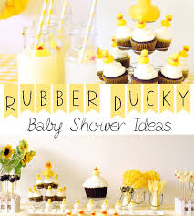 rubber duck baby shower rubber ducky baby shower ideas