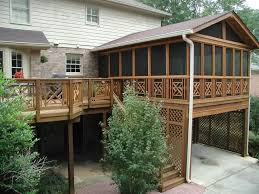 Deck Designs Pictures by Covered Deck Designs Homesfeed