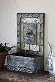 amazon com montera wall fountain in antique copper wall