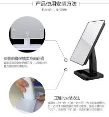 new led cosmetic mirror table lamp makeup portable adjustable usb