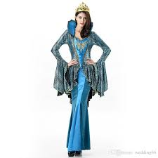Western Halloween Costumes Greek Goddess Western Stage Clothing Queen Dresses Carnival