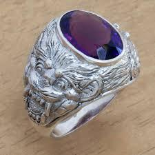 silver lion ring holder images Asian lion ring holder images jpg