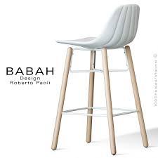 tabouret cuisine bois tabouret de cuisine design babah wood 65 pieds bois naturel