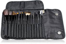 com nyx brush set 15 piece black 1 ounce makeup brush sets