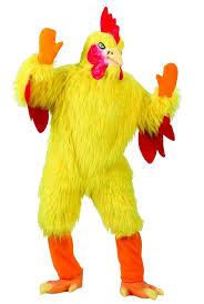 amazon com funworld funny chicken suit yellow one size costume