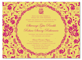 hindu invitation indian wedding invitations on seeded paper vintage hindu by