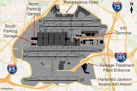 atlanta international airport map atlanta atl airport flightline aviation media planespotting guide