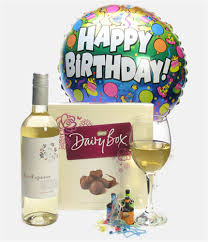 wine birthday gifts white wine and chocolates birthday gift price inc next day delivery