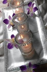 Silver Wedding Centerpieces by Purple And Silver Wedding Weddinary Com Our Wedding U003c3
